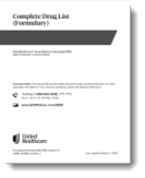 View List of Covered Drugs